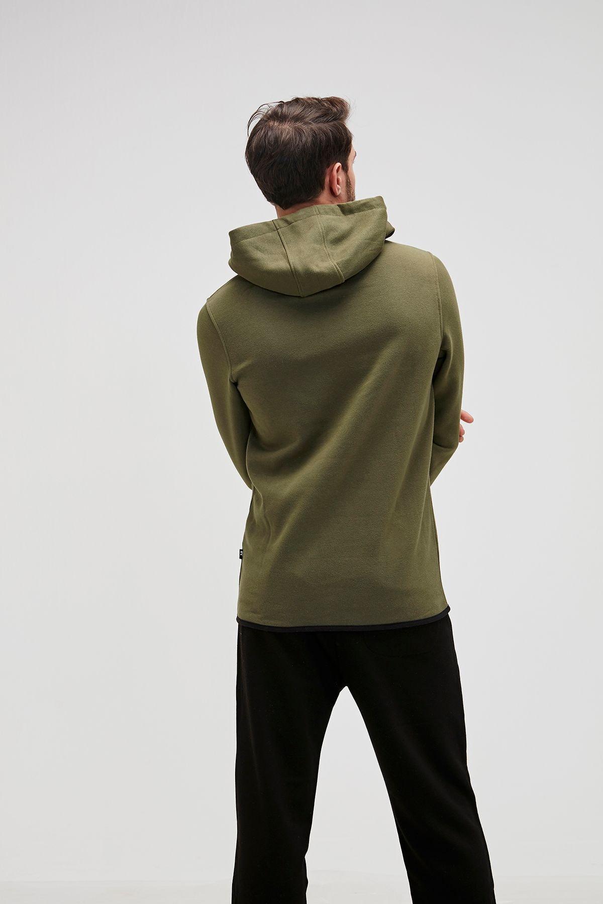 Bad Bear Defence Half-zıp Basic Pamuklu Erkek Sweatshirt 19.02.27.027 2