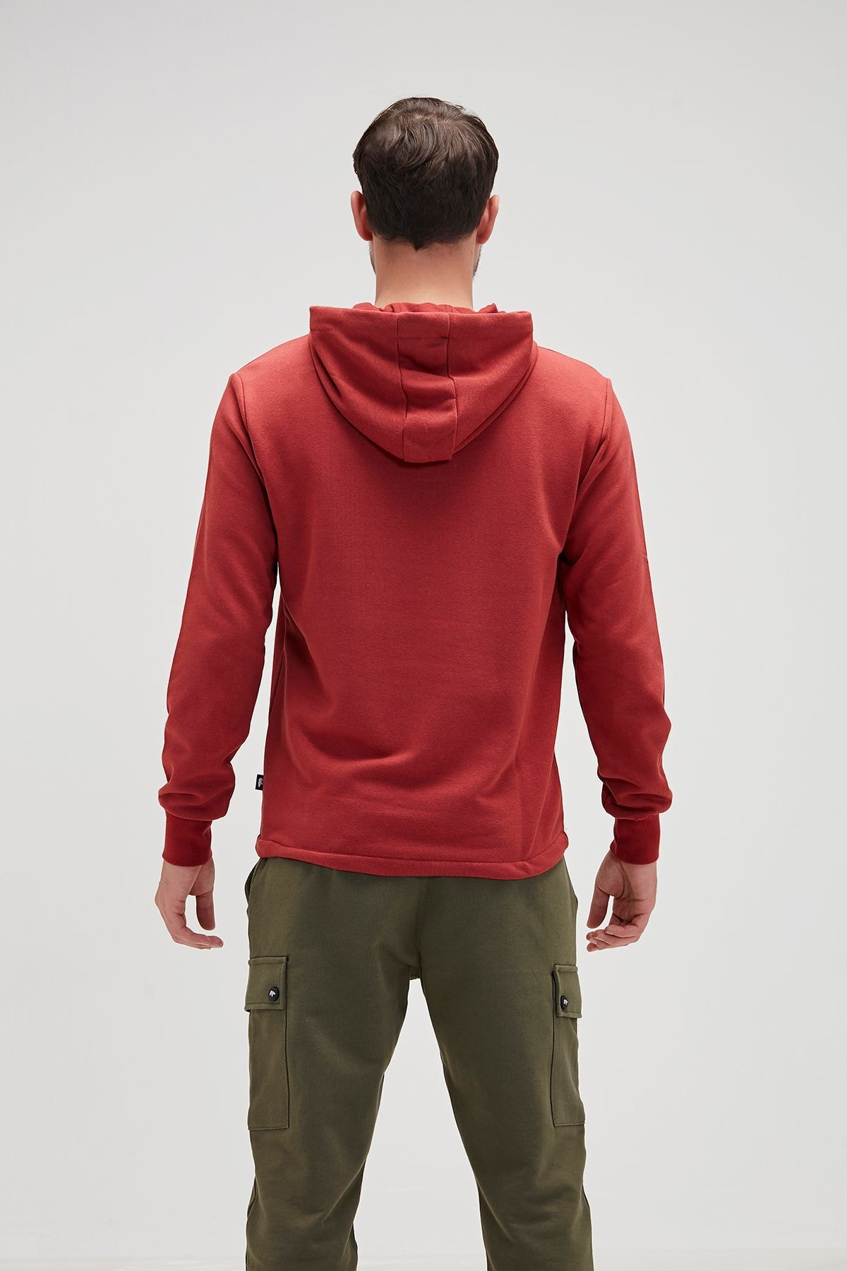 Bad Bear Erkek Turuncu Sweatshirt 2
