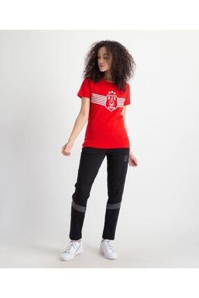 Beşiktaş Kadın Kırmızı Baskılı T-shirt 8919116