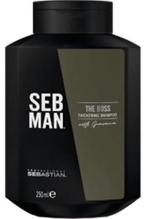 SEBASTIAN Seb Man The Boss Hair Thickening Shampoo 250ml.