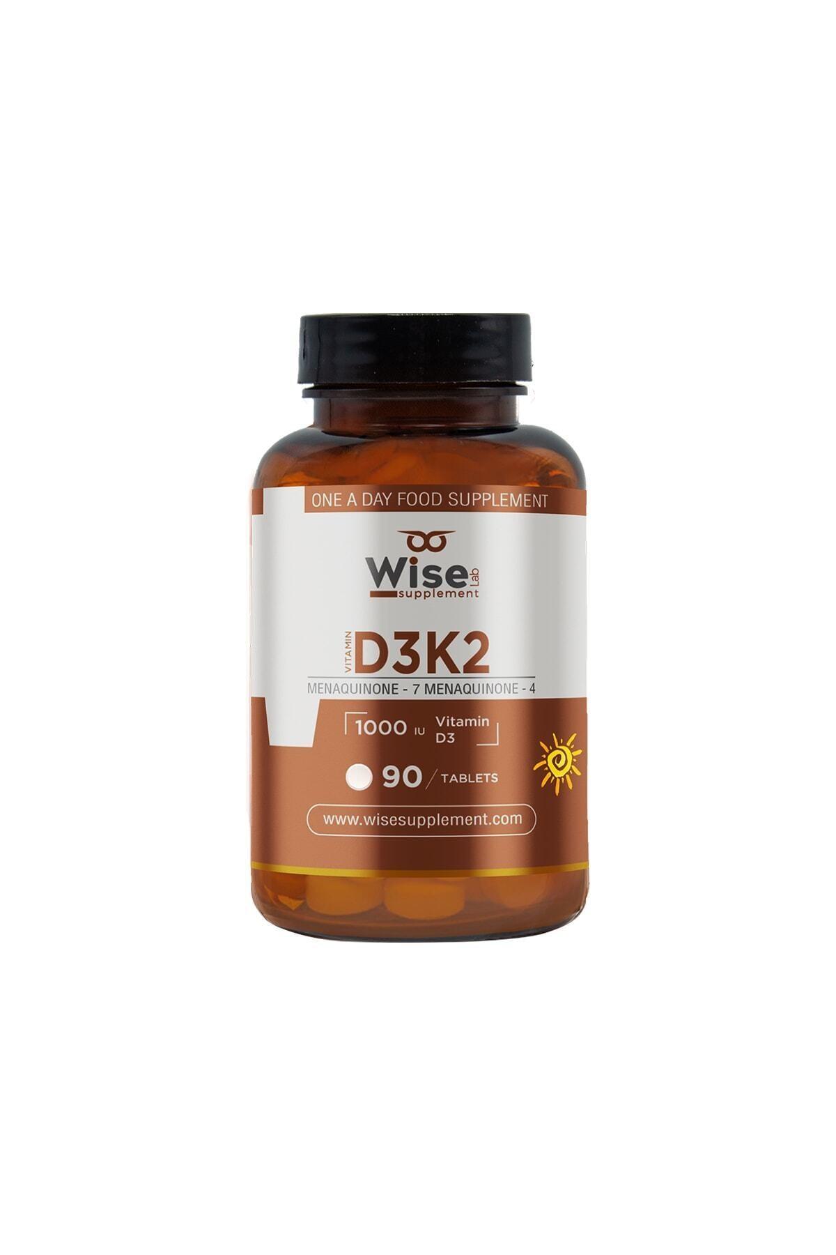 WiseLab Vitamin D3 + K2 90 Tablet 1