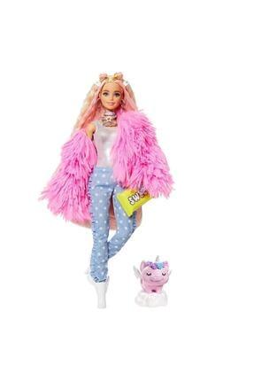 mattel Barbie Extra-pembe Ceketli Bebek Grn28