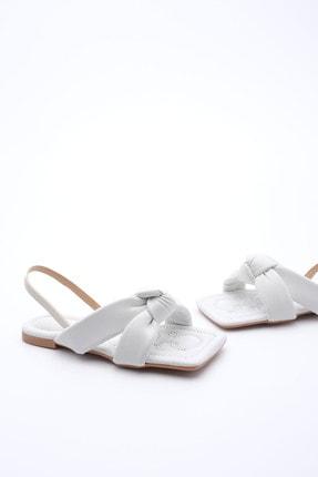 Marjin Kadın Sandalet Helginbeyaz