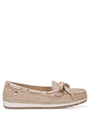 Nine West ALITHIEN 1FX Kum Rengi Kadın Loafer Ayakkabı 101027302