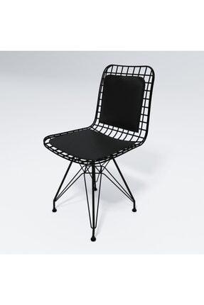 Kenzlife Knsz Kafes Tel Sandalyesi 1 Li Mazlum Syhsyh Sırt Minderli Ofis Cafe Bahçe Mutfak