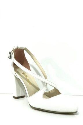 PUNTO Kadın Topuklu Yanı Açık Ayakkabı 462074