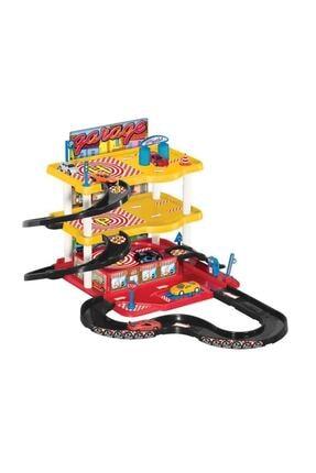 Adalı Oyuncak Garaj Oyun Seti - 3 Katlı