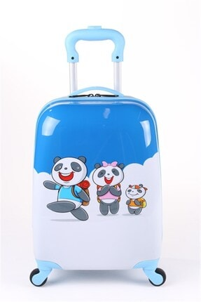 ALBATROS Pc Panda Baskılı Çocuk Valizi
