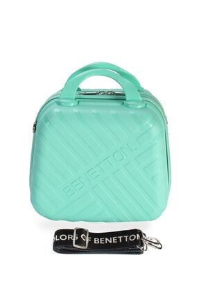 Benetton Bntm103 Mkj Makyaj Çantası Mint Green