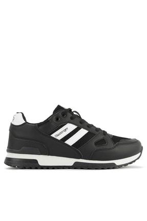 Slazenger Maroon Sneaker Unisex Ayakkabı Siyah / Beyaz Sa11le055