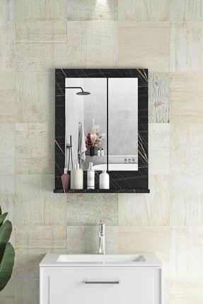 bluecape Verona Sonata Raflı Dresuar Hol Koridor Duvar Salon Banyo Wc Ofis Çocuk Yatak Odası Ayna 45x60cm