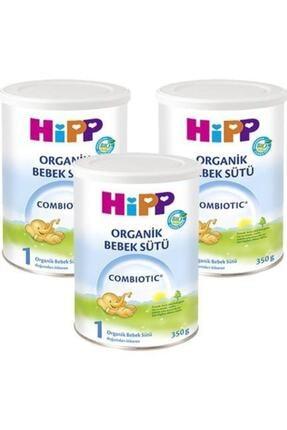 Hipp 1 Organik Combiotic Bebek Sütü 350 gr 3 Lü