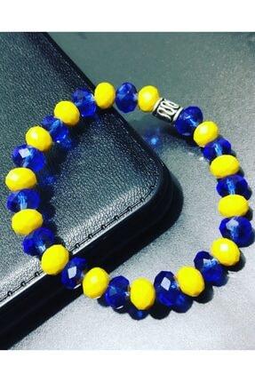 Fenerbahçe Ruhunu Bileğinde Hisset Sarı Lacivert Bileklik