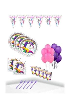 UNICORN Doğum Günü Parti Seti Mini 24 Kişilik