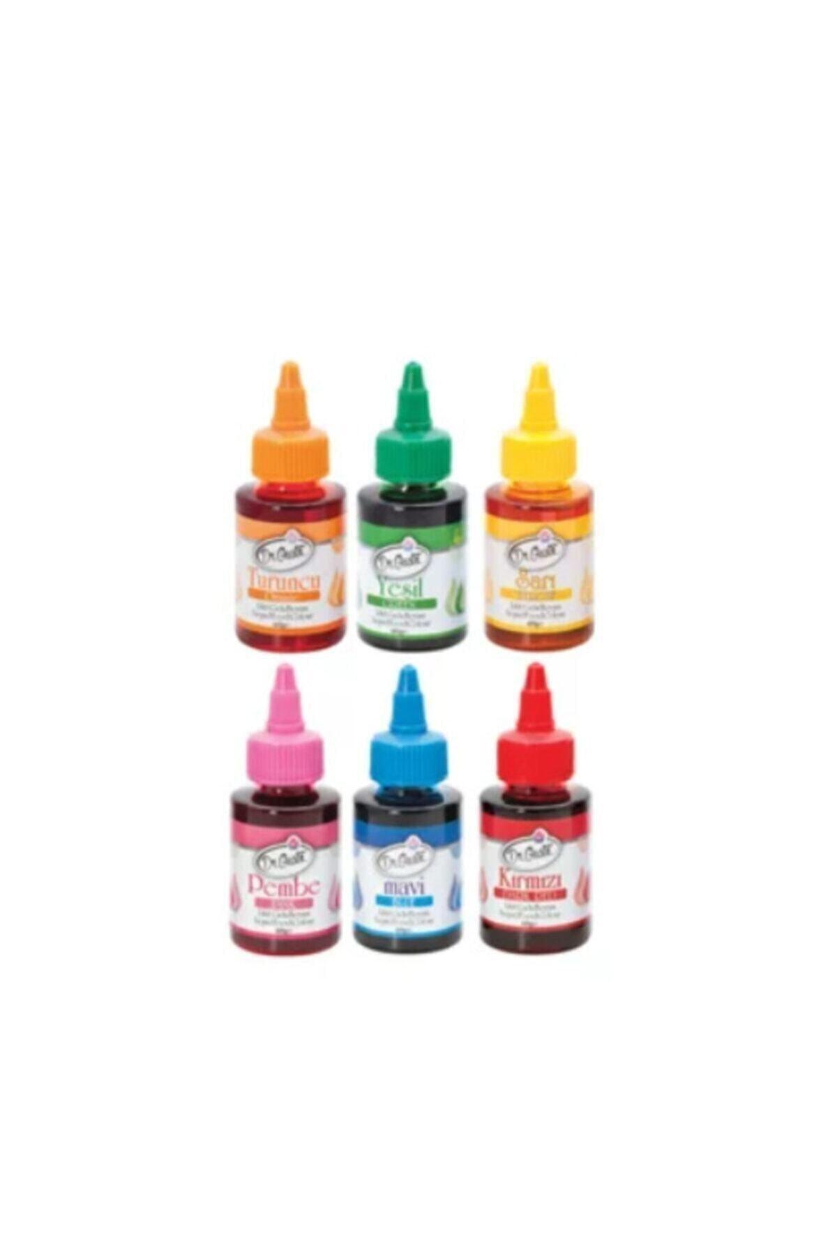 Dr. Gusto Sıvı Gıda Boyası 6lı 60gr X 6 1