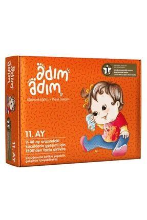 Adım Adım Yayınları Adım Adım Bebek Eğitim Seti 11.ay