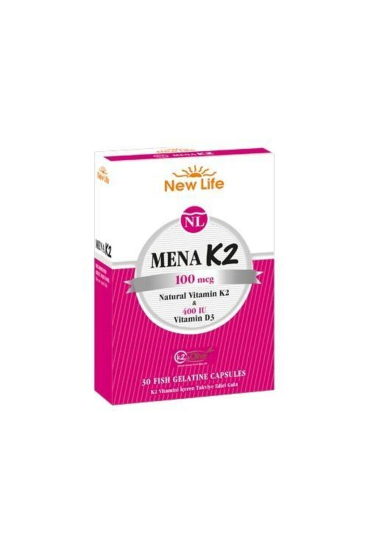 New Life Mena K2 100 Mcg 30 Kapsül 1