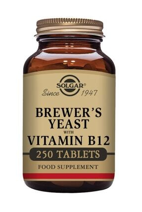 Solgar Brewer's Yeast With Vitamin B12 250 Tablet