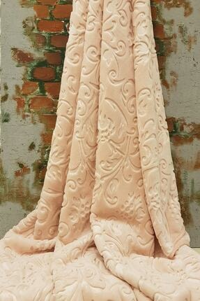 Merinos Elegans Battaniye Tek Kişilik-160x220 Cm- Pudra