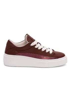 Pegia Kadın Bordo Sneaker La1619