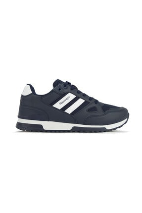 Slazenger Maroon Sneaker Unisex Ayakkabı Lacivert / Beyaz Sa11le055