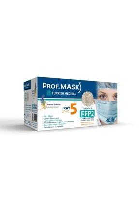 Prof mask Türkiye'de Ilk. 5 Kat 1. Sınıf Maske 1 Kutu