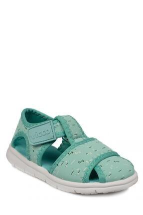Vicco Unisex Çocuk Yeşil Sandalet