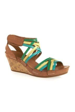 CLARKS Kadın Platform Sandalet