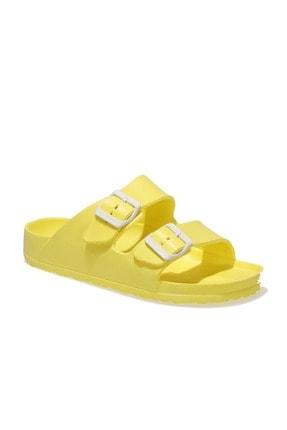 Polaris 400367.z1fx Sarı Kadın Günlük Plaj Terlik - - Sarı - 36