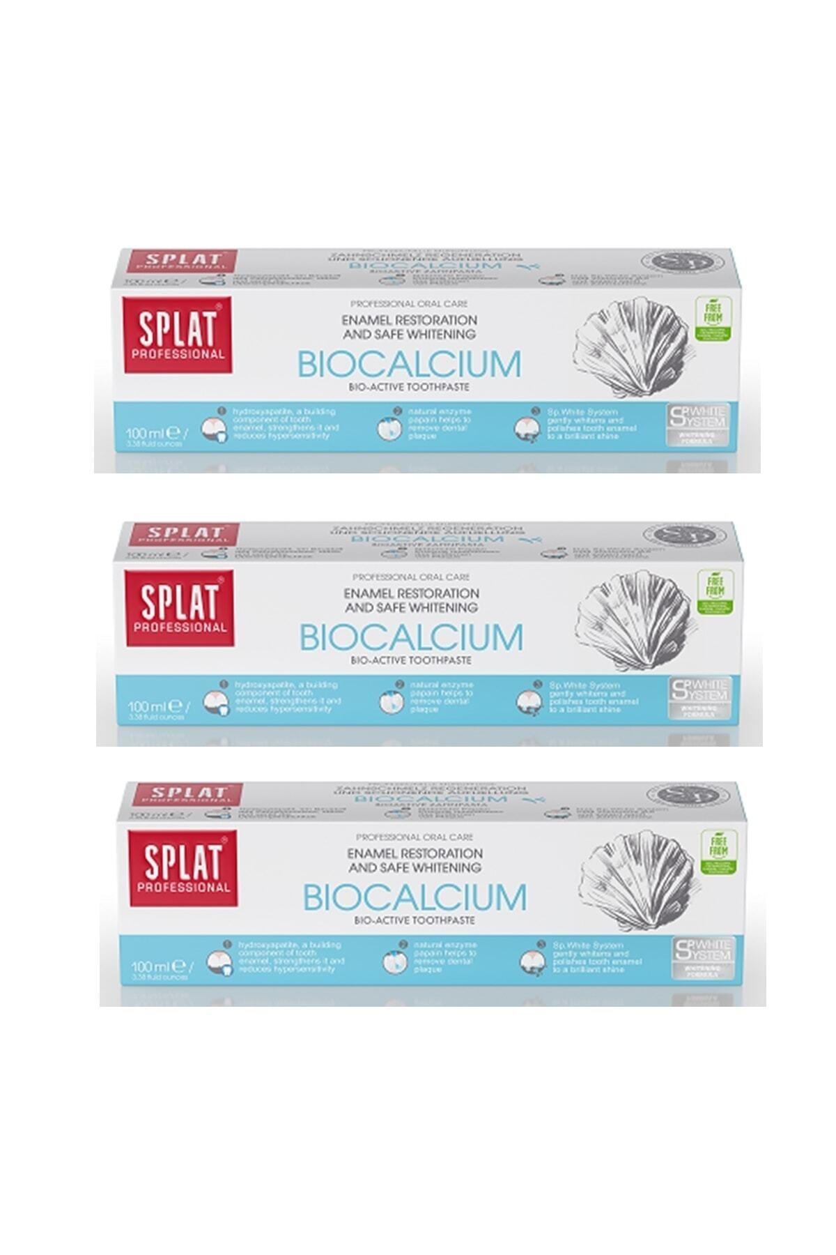 Splat Bıocalcıum 100 ml 3 Adet 1