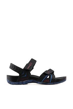Ceyo Siyah Erkek Sandalet 9829-sıyah-kırmızı-e