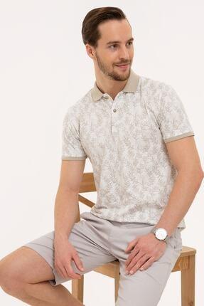 Pierre Cardin Koyu Gri Slim Fit Polo Yaka T-Shirt