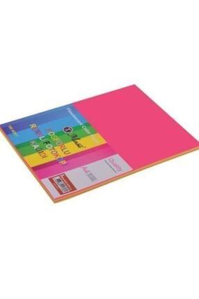 Masis Fosforlu Renkli Fotokopi Kağıdı 80gr A4 100lü Pk