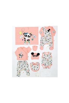 İmaj Cute Yenidoğan Baby Panda 10'lu Hastane Çıkışı Set