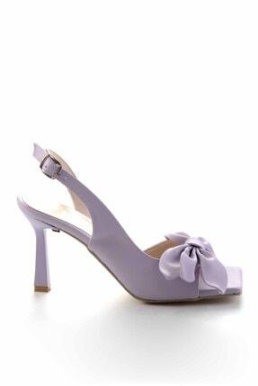 Bambi Kadın Lila Klasik Topuklu Ayakkabı K055272500