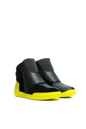 Dainese Dover Gore-tex Ayakkabı Black Fluo Yellow
