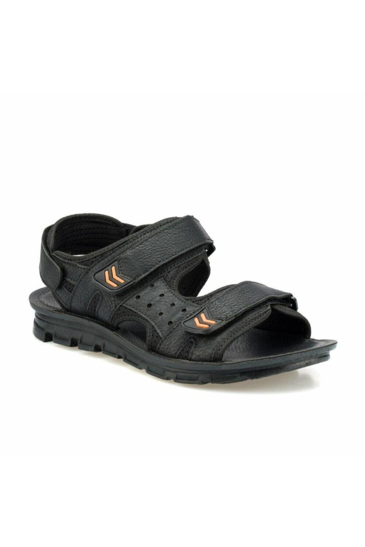 Polaris 160240.M Siyah Erkek Sandalet 100500958 2