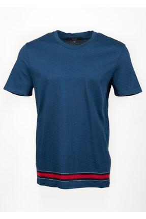 Gucci Erkek Mavi Kısa Kollu Tişört