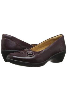 CLARKS Kadın Bordo Ortopedik Klasik Ayakkabı