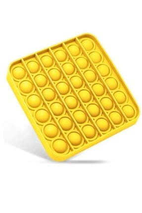 Başel Toys Sarı Kare Push Bubble Pop It