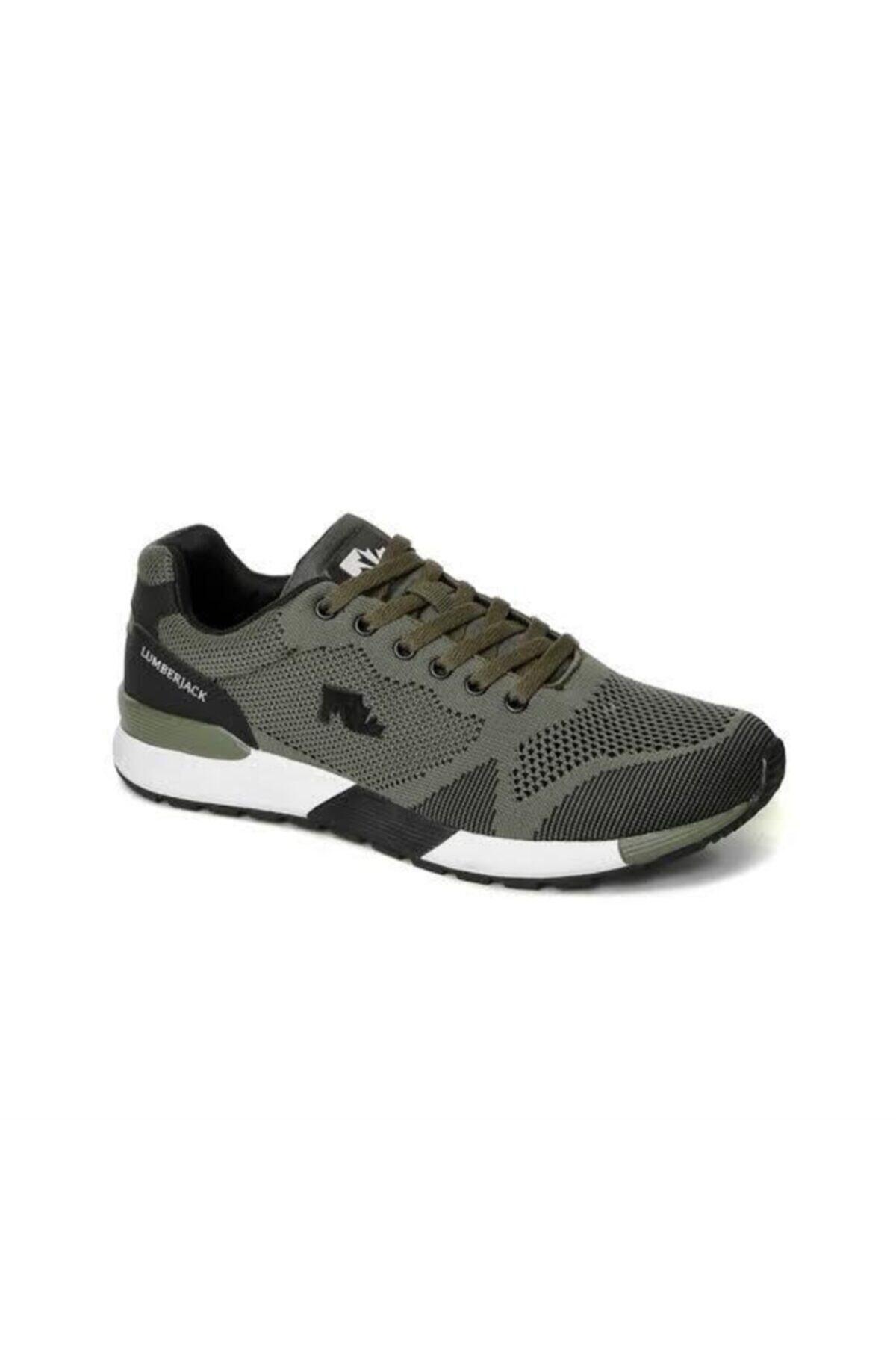 lumberjack VENDOR 9PR Haki Erkek Sneaker Ayakkabı 100416554 2