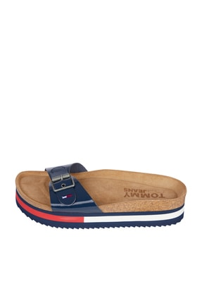 Tommy Hilfiger Kadın Lacivert Sandalet