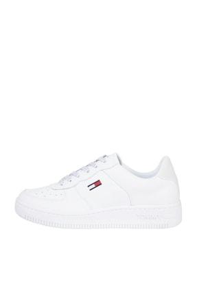 Tommy Hilfiger Kadın Beyaz Sneaker Wmns Reflectıve Basket EN0EN01355