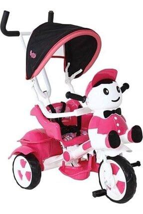 BabyHope Pembe Hope Yupp Üç Tekerli Kontrollü Bisiklet