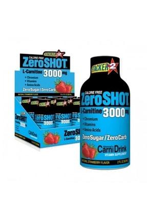 Zero Shot 3000 Mg L-carnitine Çilek 12 Ampül