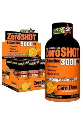 Zero Shot 60 ml 3000 Mg L-carnitine 12 Adet Portakal