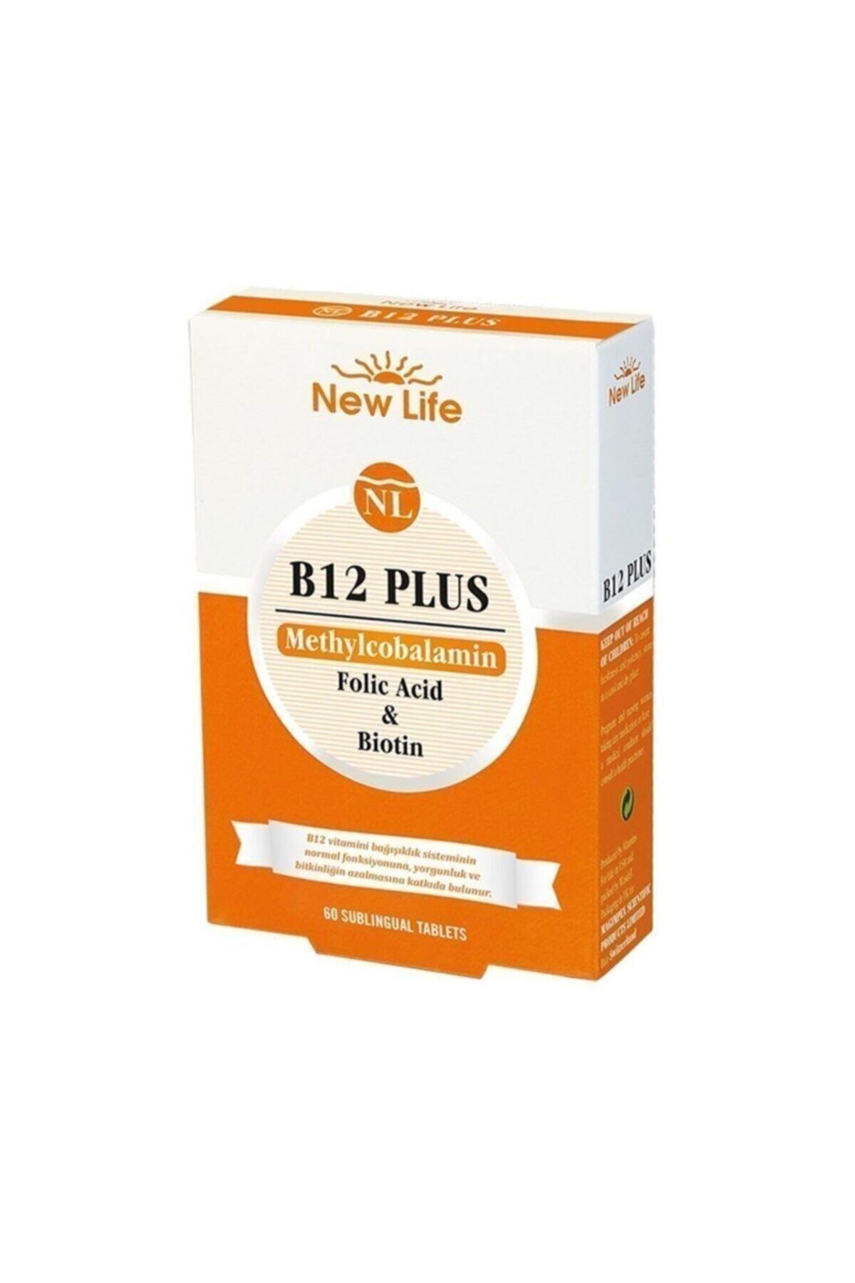 New Life B12 Plus 60 Tablet 1