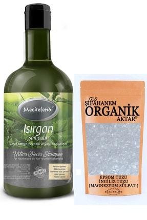 Mecitefendi Isırgan Şampuanı 400ml+ Epsom Tuzu (ingiliz Tuzu)150gr Saç Kürü