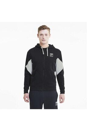 Puma Rebel Fermuarlı Erkek Kapüşonlu Sweatshirt