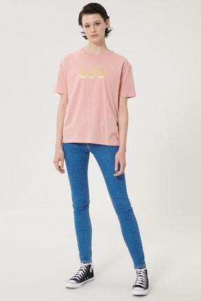 Lee Kadın Mavi Scarlett Skinny Fit Denim Esnek Jean Kot Pantolon